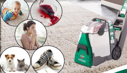 Jak używać odkurzacza piorącego z wypożyczalni Greenrental? [FILM]
